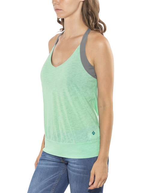 Prana Bedrock Top Women Succulent Green